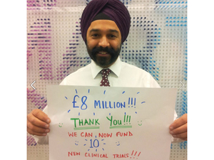 CRUK chief executive Dr Harpal Kumar