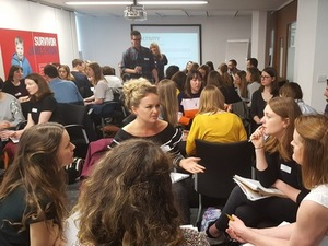 Breakout discussions at the PR Network event, 31 March 2017